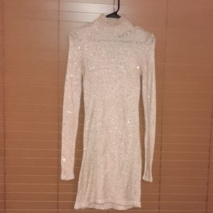 Victoria's Secret Gold sequins dress